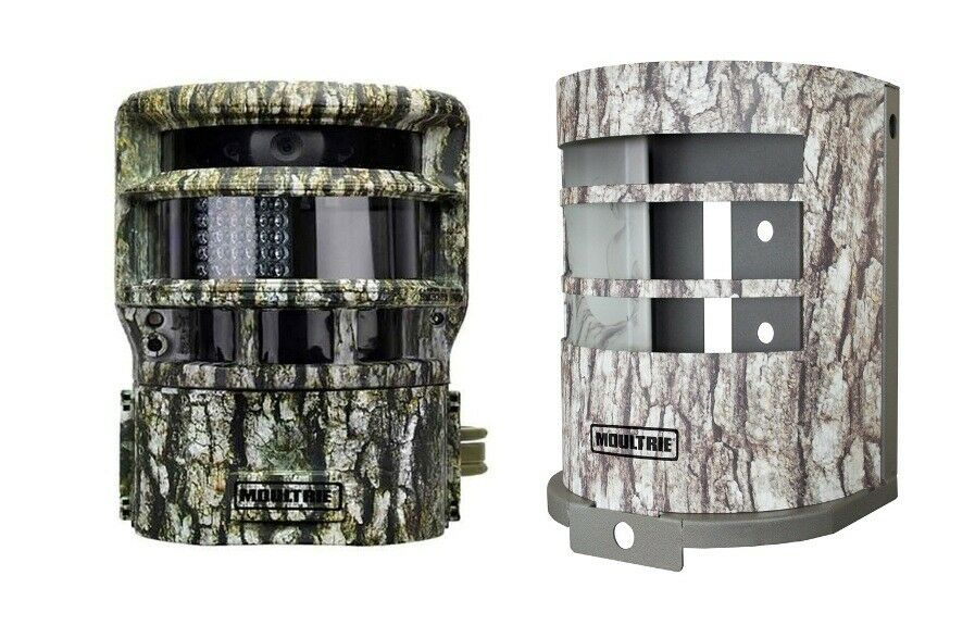 Moultrie P150 8MP Panoramic Scouting Stealth Trail  Cam Camera + Security Box  cheap