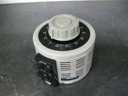 YAMABISHI S-130-10 Variable Transformer 0-130 vac 10 amp Volt Slider