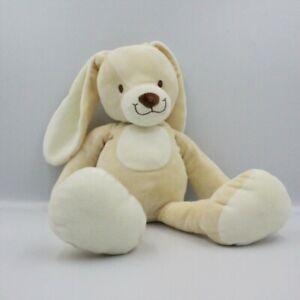 Doudou-lapin-ecru-blanc-NICOTOY-40-cm-Lapin-Classique