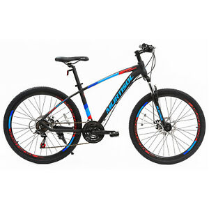 26-034-Blue-Aluminum-Mountain-Bike-Disc-Brakes-21-Speeds-Front-Suspension-Bicycle