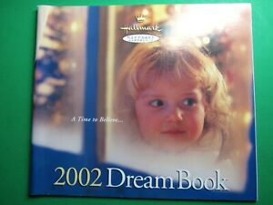 2002-HALLMARK-KEEPSAKE-DREAM-BOOK-CHRISTMAS-ORNAMENT-REFERENCE-CATALOG