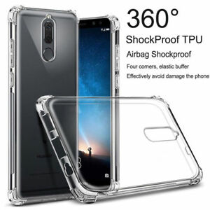 buy popular 8db8c e12ce Details about For Huawei Mate10 10Pro 10 Lite 9 Pro Clear Shockproof Slim  TPU Cover Case IDL