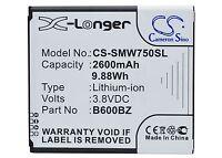 Battery For Verizon Sm-w750v, Samsung Ativ Se, Ativ Se Neo, Huron, B600bz