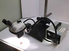 Bausch & Lomb Stereozoom 3 Microscope  10x-25x Zoom + Boom Stand + Illuminator