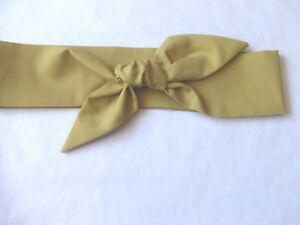 Image is loading Mustard-Head-Wrap-Ladies-Hair-Tie-Head-Scarf- ac7bfbd2b41