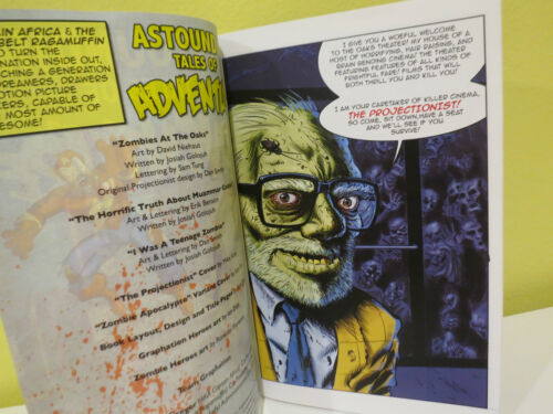 1 Tales From The Crypt Inspired Zombie Comic Astounding Tales of Adventure no