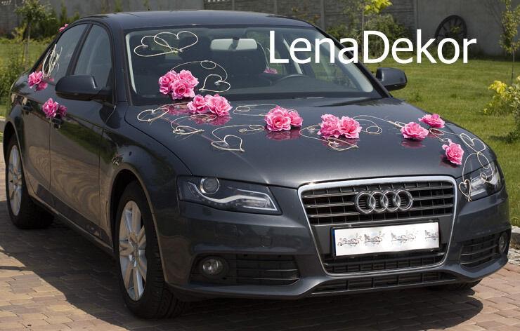 Mariage voiture décoration mariage prom limousine ruban arcs rita d p mariage