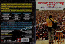 Woodstock Diaries 1969 (DVD, 2009) A Hour Show. New DVD