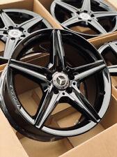 18 Mercedes Benz Amg C Class Cla Factory Wheels Rims C300 C400 Gloss Black Oem