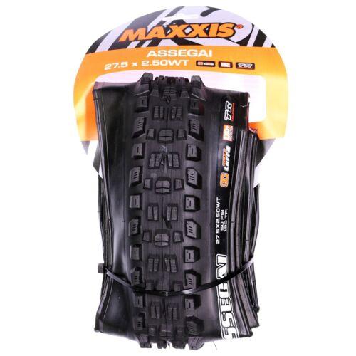 """650b Maxxis Assegai Tire x 2.5/"""" 3C//TR//WT EXO+ 27.5/"""""""