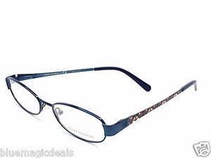 aa0a325f5e8175 Tory Burch Eyeglasses TY 1029 414 Navy metallic Vase 51-16-135 1427 ...