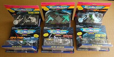 MULTI-LIST OF GALOOB STAR TREK MICRO MACHINES 3 SHIP SETS NEW//UNOPENED