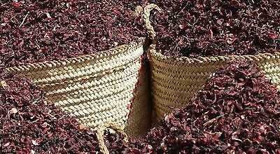 HIBISCUS KARKADEH RED ROSE TEA Drink Organic Loose Flower Roselle Sabdariffa