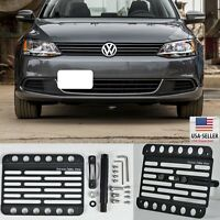 For 15-up Volkswagen Jetta Ncs Sedan Se Front Bumper Tow Hook License Plate