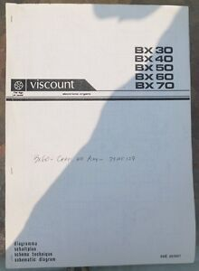 image is loading viscount-electronic-organs-schematic-diagram-bx-30-bx-