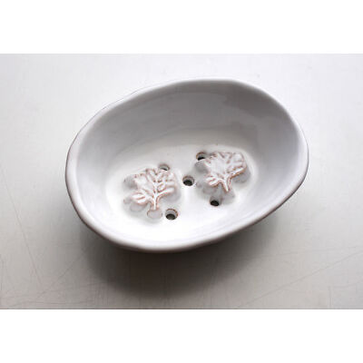 Ceramic Soap Dish, Bathroom Shower Soap Holder