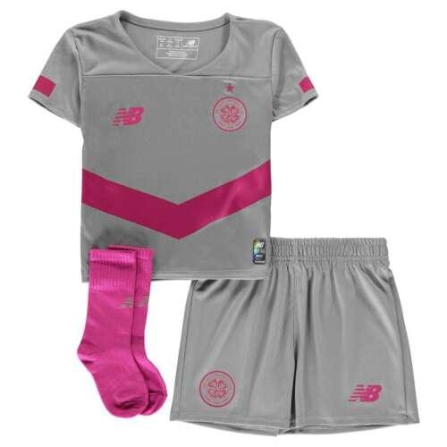 New Balance Kids Boys Celtic Third Mini Kit 2019 2020 Domestic Minikits Football