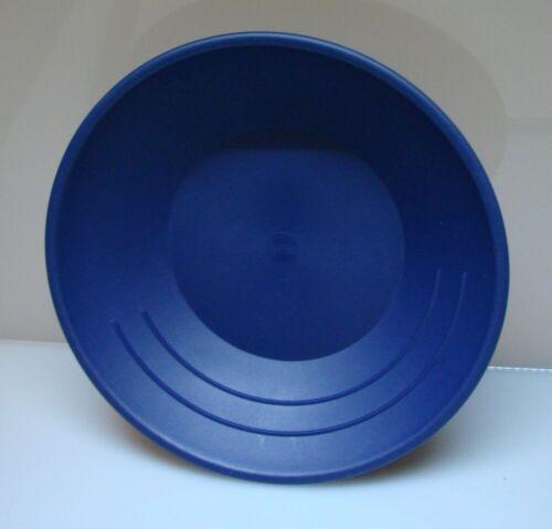 "Gold Pan Mining Panning plastic Prospecting for Miners 10/"" BLUE 3 RIDGES"