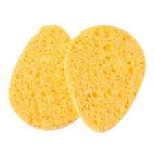 2pcs Natural wood fiber Facial Cleansing Sponges Face Removal Sponge Teardrop