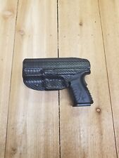 Concealment Black Carbon Kydex IWB Holster Springfield Armory XDM 4.5