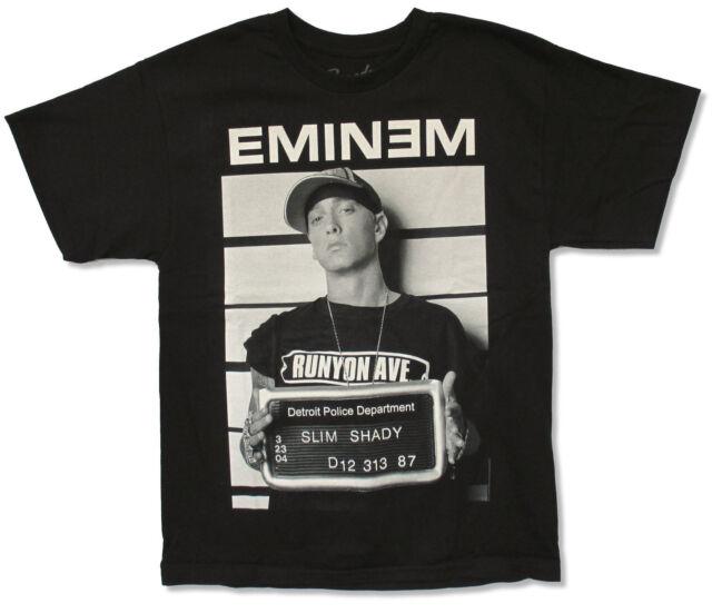 Eminem All Star Card Black T Shirt New Official Merch Slim Shady