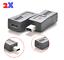 2x-MICRO-USB-A-MINI-USB-Donna-maschio-Adattatore-Caricatore-Convertitore-Adattatore-US miniatura 1