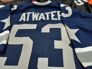 Details about Dallas Cowboys Custom Football Jersey.Your Name Number-SEWN-ON.Grey Stars.