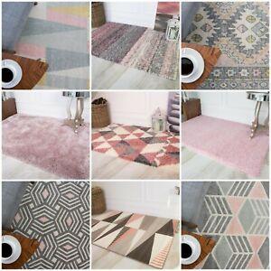 Bright-Blush-Mauve-Pink-Rugs-Living-Room-Kids-Barbie-Baby-Pink-Girls-Bedroom-Mat