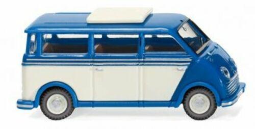 1//87 Wiking DKW Schnelllaster autobús azul perla 0334 02