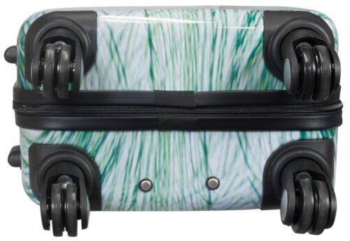Bagages à main trolley 4 roulettes motif plage mer Baltique dune plage taille M 54cm 25l