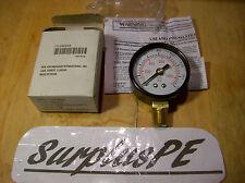 PRESSURE GAUGE 5WZ22 160 PSI (MFG for Grainger Int Inc.) New, USA Shipper