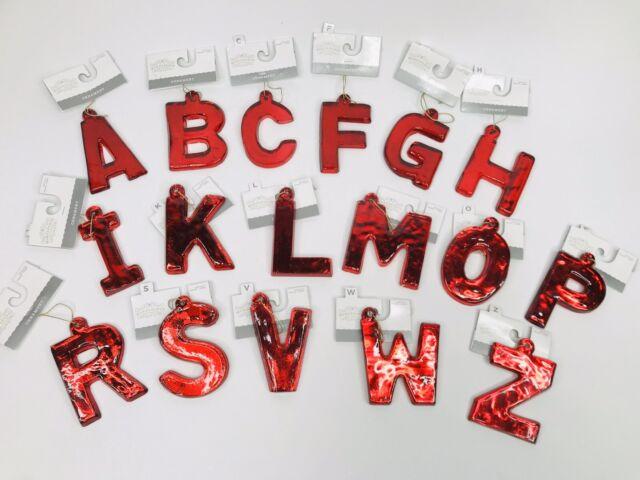 Monogram Wood Holiday Ornament Target Wondershop Xmas Wooden Letter Initial