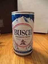BUSCH BAVARIAN 12 OZ STEEL ROUND EDGE BEER CAN ST LOUIS