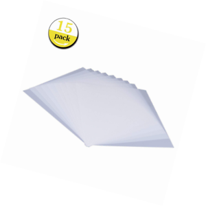15 pieces blank stencil sheets square mylar templates make your own
