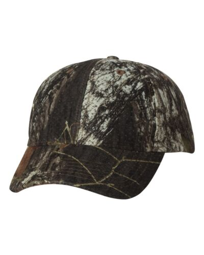 Kati Licensed Camo Athletic Mesh Cap Baseball Hat LC30 Mossy Oak or Oil Camo
