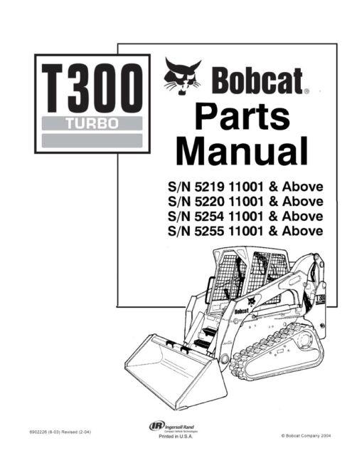 bobcat s300 parts manual 6904717 ebay rh ebay com Bobcat S300 Oil Capacity bobcat s300 parts manual for sale