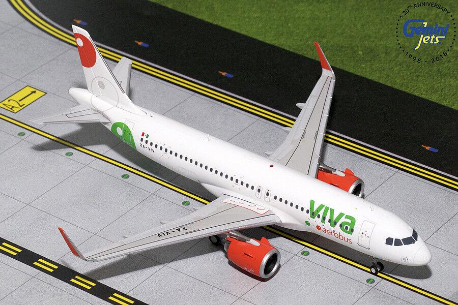 Gemini Jets 1 200 VivaAerobús Airbus A320neo XA-Viv G2VIV730 En Stock