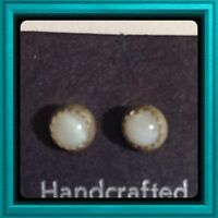 Genuine Sterling Silver Indian Hand Made Earrings-