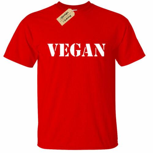 KIDS BOYS GIRLS Vegan Animal Lover PETA Shirt T-Shirt Vegetarian