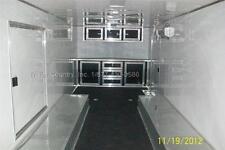 New 2021 85 X 24 85x24 V Nose Enclosed Race Cargo Toy Car Hauler Trailer