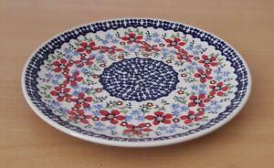 Geschenk-Obst-Beilagen-Teller-22-cm-Bunzlauer-Keramik-ni3303-Handarbeit-must101