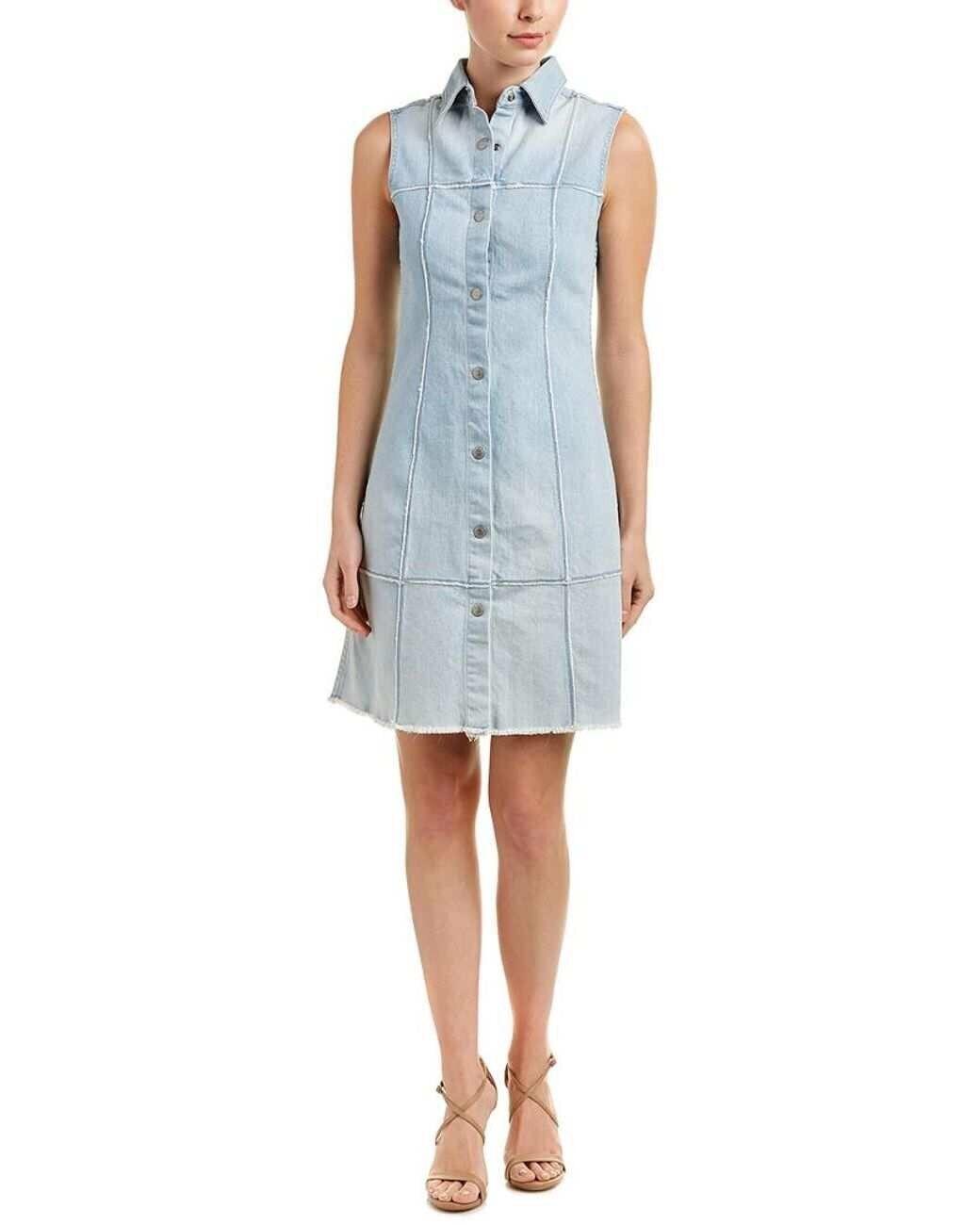 10c898bcee68 NWT NWT NWT AG denim dress sleeveless Size XS 11d336 - coats ...