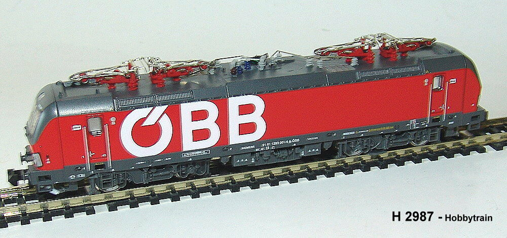 Hobbytrain 2987 S - Electric Locomotive BR 1293 Vectron ÖBB, ep.vi , with Sound