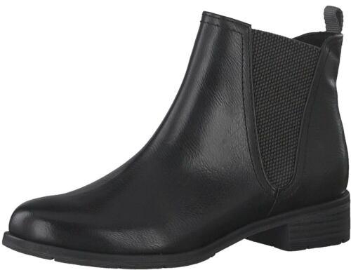 Marco Tozzi Damen Stiefeletten Stiefel Boots Winter 2-2-25090-23//002 Schwarz Neu