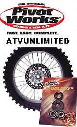HONDA XR650R REAR WHEEL BEARING KIT XR 650R 00-09