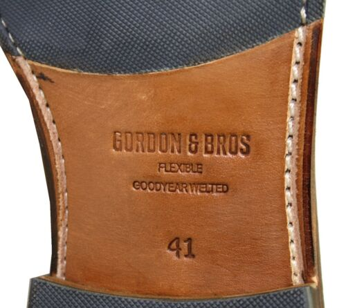 Gordon /& Bros 5662 Milan Flexible rahmengenähte Schuhe Goodyear Welted Norweger