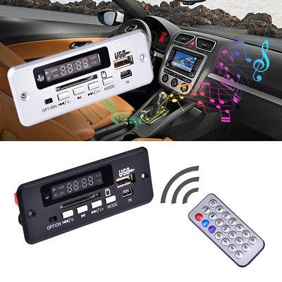 Wireless 5V MP3 WMA Decoder Board Audio Module USB TF Radio