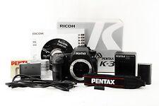 【Mint 8109shot】PENTAX K-3 23.4 MP Digital SLR Camera Black Body from Japan #2303