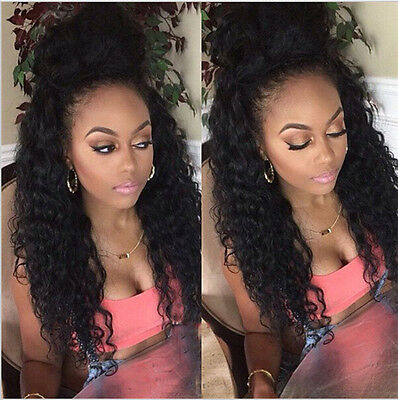 Hot New Sytle  1 Bundle Brazilian Human Hair Weave Extensions Weft  Deep Wave