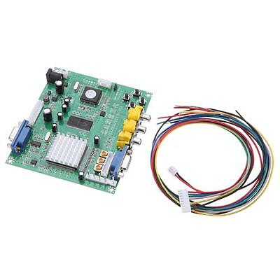 New Genuine GBS8200 CGA/EGA/YUV/RGB to VGA Arcade Game HD Video Converter Board